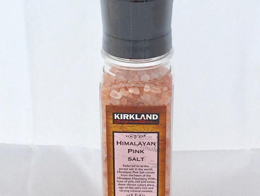 picture of Himalayan salt and combined grinder