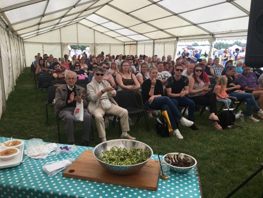 people attending Living Heritage Food Festival
