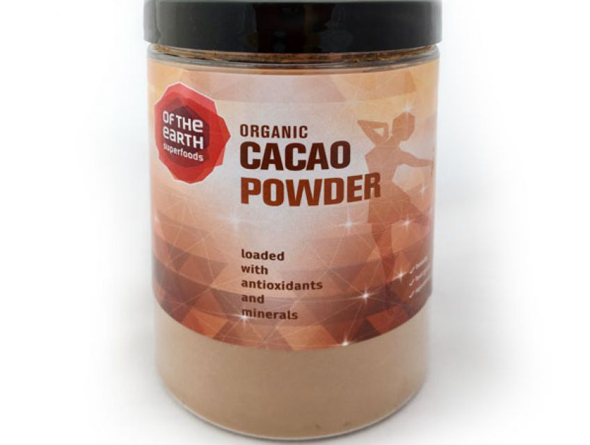 Organic Cacao Powder is one of nature's greatest sources of antioxidants and a great source of minerals, particularly iron and zinc.  It helps to keep skin and hair healthy and glowing.