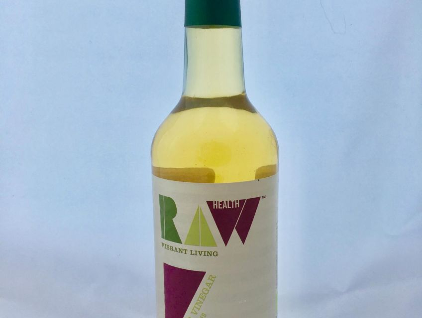 Organic Raw Apple Cider Vinegar bottle