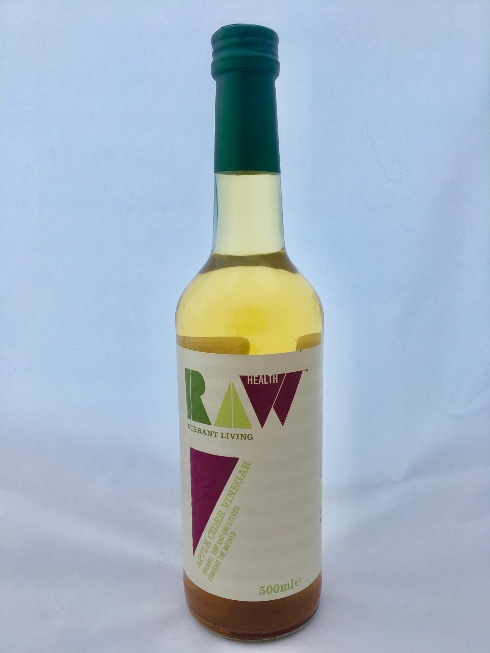 Organic Raw Apple Cider Vinegar bottle